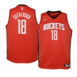 Camisetas Niños Houston Rockets Thabo Sefolosha Rojo Icon 2019-20