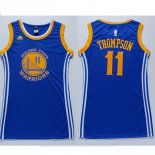 Camisetas Mujer Golden State Warriors Klay Thompson Azul
