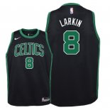 Camisetas Niños Boston Celtics Shane Larkin Negro Statement 2018