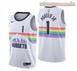 Camisetas Nike Denver Nuggets Michael Porter Jr Nike Blanco Ciudad 2018-2019