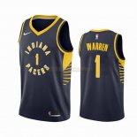 Camisetas Indiana Pacers T.J. Warren Gray Marino Icon 2019-2020
