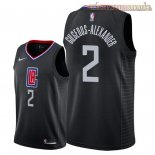Camisetas Nike L.A.Clippers Shai Gilgeous Alexander Negro Statement 2018