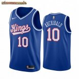 Camisetas NBA Sacramento Kings Nate Archibald Azul Throwback