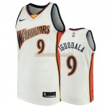 Camisetas Golden State Warriors Andre Iguodala Blanco Throwback