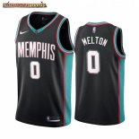 Camisetas NBA Menphis Grizzlies De'Anthony Melton th Season Classics Negro