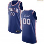 Camisetas Philadelphia Sixers Jacob Pullen Azul Icon 2017-2018
