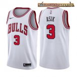 Camisetas Chicago Bulls Dwyane Wade Blanco Association 2017-2018