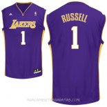 Camisetas L.A.Lakers D'Angelo Russell Púrpura