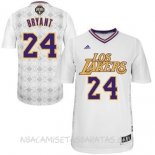 Camisetas L.A.Lakers Noches Latinas Manga Bryant Blanco