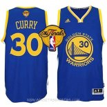 Camisetas Golden State Warriors Finales Curry Azul
