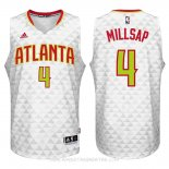 Camisetas Atlanta Hawks Paul Millsap Blanco