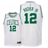 Camisetas Niños Boston Celtics Terry Rozier III Blanco Association 2018