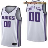 Camisetas Sacramento Kings Willie Cauley Stein Blanco Association 2017-2018