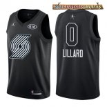 Camisetas 2018 All Star Damian Lillard Negro