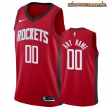 Camisetas NBA Houston Rockets Personalizada Rojo Icon 2019-20