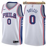 Camisetas Philadelphia Sixers Jerryd Bayless Blanco Association 2017-2018