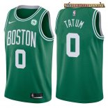 Camisetas Boston Celtics Jayson Tatum Verde 2017-2018
