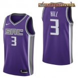 Camisetas Sacramento Kings George Hill Púrpura Icon 2017-2018