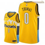 Camisetas Nike Denver Nuggets Isaiah Thomas Amarillo Statement 2018