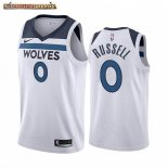 Camisetas NBA Nike Minnesota Timberwolves D'angelo Russell Blanco Association 2019-20