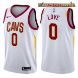 Camisetas Cleveland Cavaliers Kevin Love Blanco Association 2017-2018
