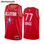 Camisetas 2020 All Star Luka Doncic Rojo