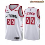 Camisetas NBA Houston Rockets Personalizada Blanco Ciudad 2019-20