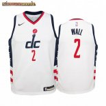 Camisetas Niños Washington Wizards John Wall Nike Blanco Ciudad 2019-20