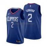 Camisetas Niños Los Angeles Clippers Kawhi Leonard Azul Icon 2019-2020