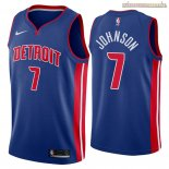 Camisetas Nike Detroit Pistons Stanley Johnson Azul Icon 2018