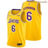 Camisetas Los Angeles Lakers Lance Stephenson Amarillo 2018-2019