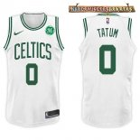 Camisetas Boston Celtics Jayson Tatum Blanco 2017-2018