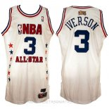 Camisetas 2003 All Star Allen Iverson Blanco