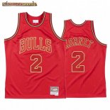 Camisetas NBA CNY Throwback Chicago Bulls Luke Kornet Rojo 2020