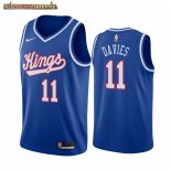 Camisetas NBA Sacramento Kings Bob Davies Azul Throwback