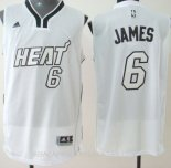 Camisetas Miami Heat LeBron James Blanco