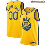 Camisetas NBA Golden State Warriors Personalizada Amarillo Statement 2020