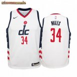 Camisetas Niños Washington Wizards C.J. Miles Nike Blanco Ciudad 2019-20