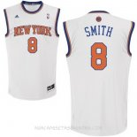 Camisetas New York Knicks J.R.Smith Blanco