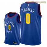 Camisetas Nike Denver Nuggets Isaiah Thomas Azul Statement 2018-2019