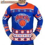 NBA Unisex Ugly Sweater New York Knicks Azul
