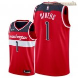 Camisetas Nike Washington Wizards Austin Rivers Rojo Icon 2018