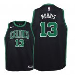 Camisetas Niños Boston Celtics Marcus Morris Negro Statement 2018