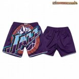 Pantalones Utah Jazz Big Face Purpura 2020