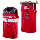Camisetas Washington Wizards John Wall Rojo Icon 2017-2018