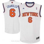 Camisetas New York Knicks Kristaps Porzingis Blanco