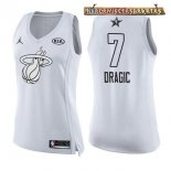 Camisetas Mujer 2018 All Star Goran Dragic Blanco