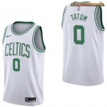 Camisetas Boston Celtics Jayson Tatum Blanco Association 2017-2018