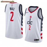 Camisetas Washington Wizards John Wall Nike Blanco Ciudad 2019-20