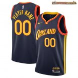 Camisetas NBA Golden State Warriors Personalizada Marino Ciudad 2020
